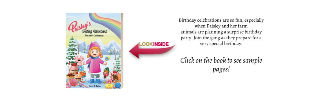 Look Inside Birthday Celebration